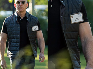 Being Jeff Bezos: Here's What The CEO Of Amazon Does For Those Impressive Biceps