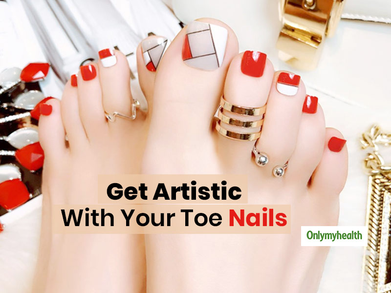 Don't Forget To Decorate Your Toenails This Wedding Season, Here Are Top Trendy Toe Nail Art Ideas
