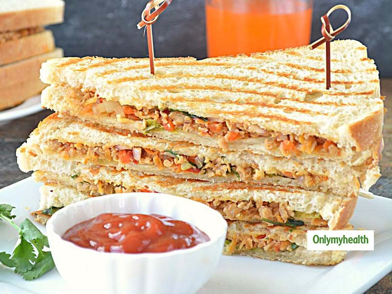Healthy Breakfast Recipe For Weight Loss: Try Easy And Protein-Rich Soya Sandwich