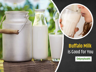 5 Reasons Why Drinking Buffalo Milk is Good for Health
