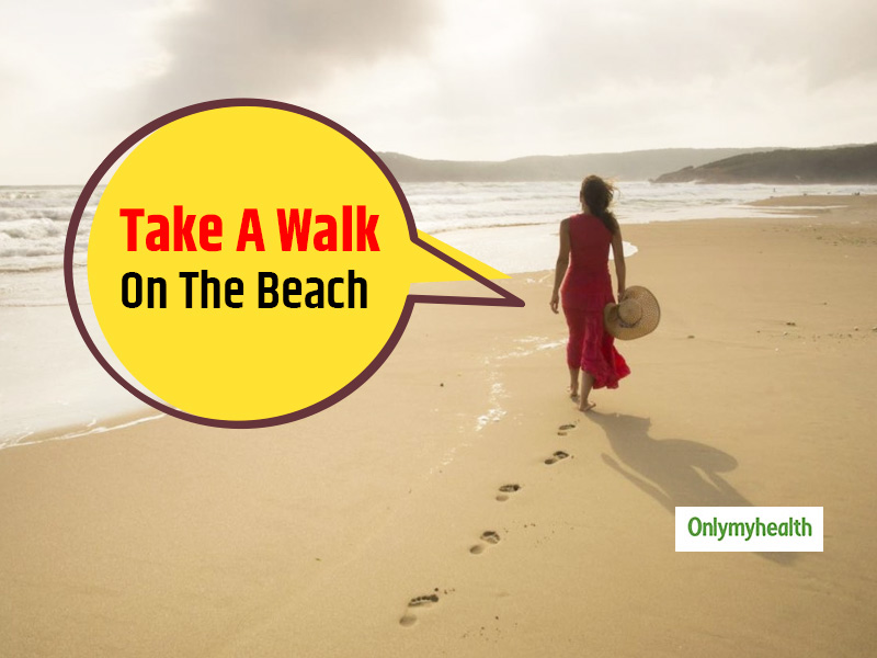Take A Brisk Walk On The Beach Daily For Better Mental Health