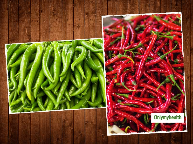 Green Chilli Or Red Chilli: What Is Good For Your Health?