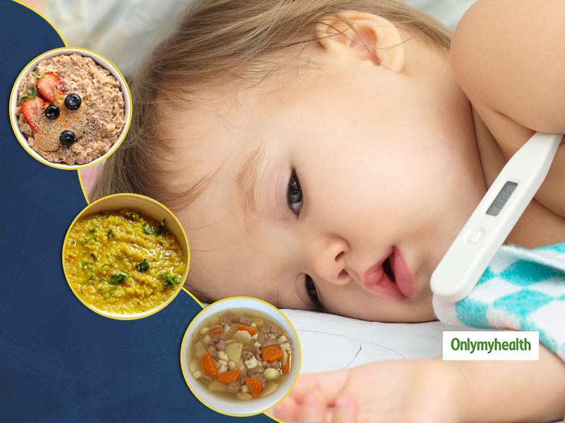What To Feed An Infant With Fever And Vomiting?