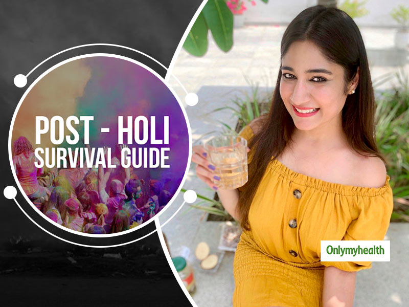 Under Holi Hangover? Here's How One Can Detox After An Enjoyable Yet Tiresome Celebration