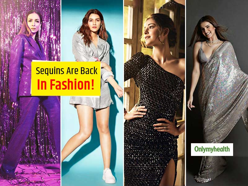 Sequins Are Back! Take Inspiration From Bollywood Divas Acing The Glitter Trend