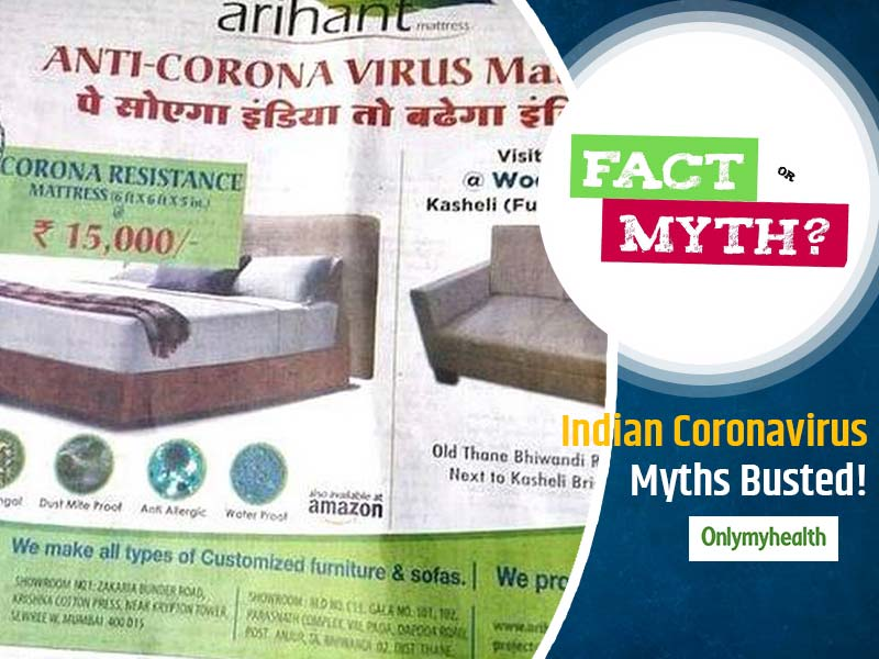 Fake News Alert! Know The Truth Behind India's Coronavirus Myths