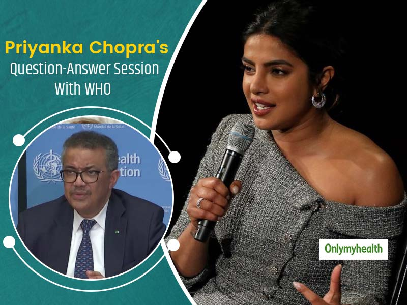 Priyanka Chopra Puts Important Questions To WHO To Clear Confusion Over COVID-9 Spread