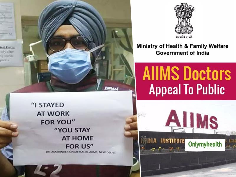 AIIMS Doctors' Advice On Coronavirus Prevention: Stay Home Stay Safe