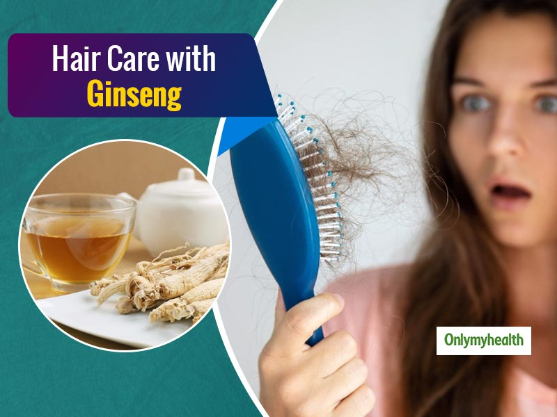 Rinse Your Hair With Ginseng Tea To Treat Hair Fall, Dandruff and Other Problems
