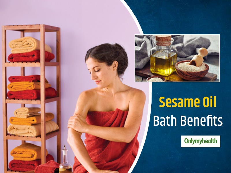 4 Health Benefits Of Taking Sesame Oil Bath