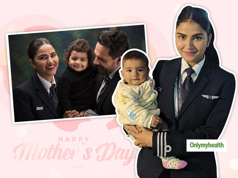 Mother's Day 2020 Special: This Pilot Mother Had Her Share Of Challenges, But She Is Unstoppable