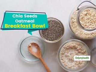 Healthy Overnight Oats Recipe With Chia Seeds For <strong>Weight</strong> <strong>Loss</strong>