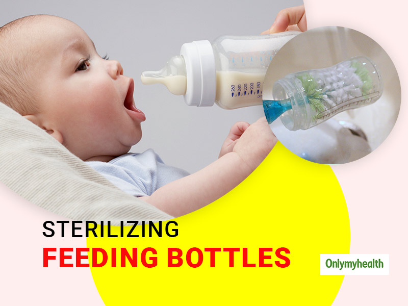 Do You Bottle Feed Your Baby? Ensure Proper Cleaning Of The Feeding Bottle To Prevent Infections