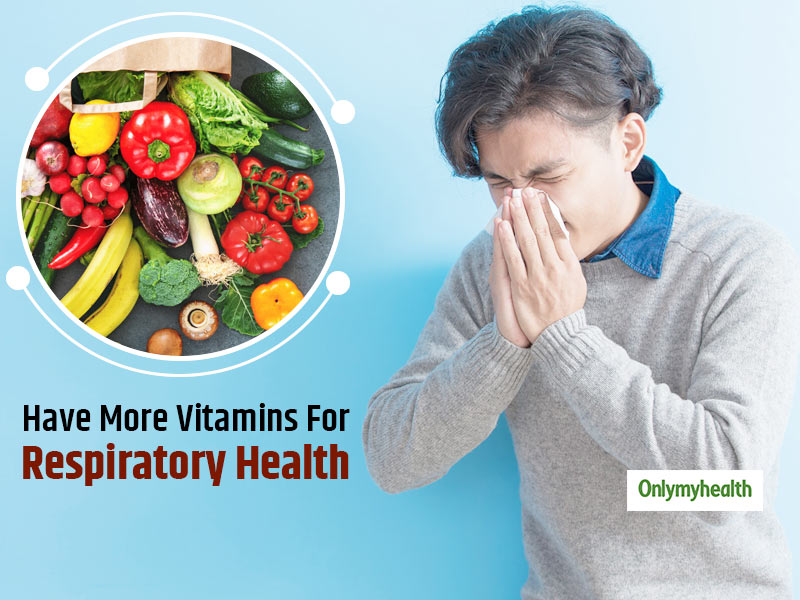 Experts Find That Consuming More Vitamins A, E and D Can Boost Respiratory Health