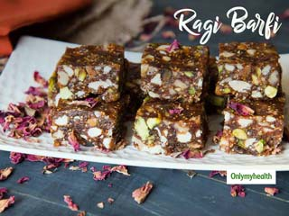Easy Diabetic Dessert Recipes: How To Make Sugar-Free Ragi Burfi?
