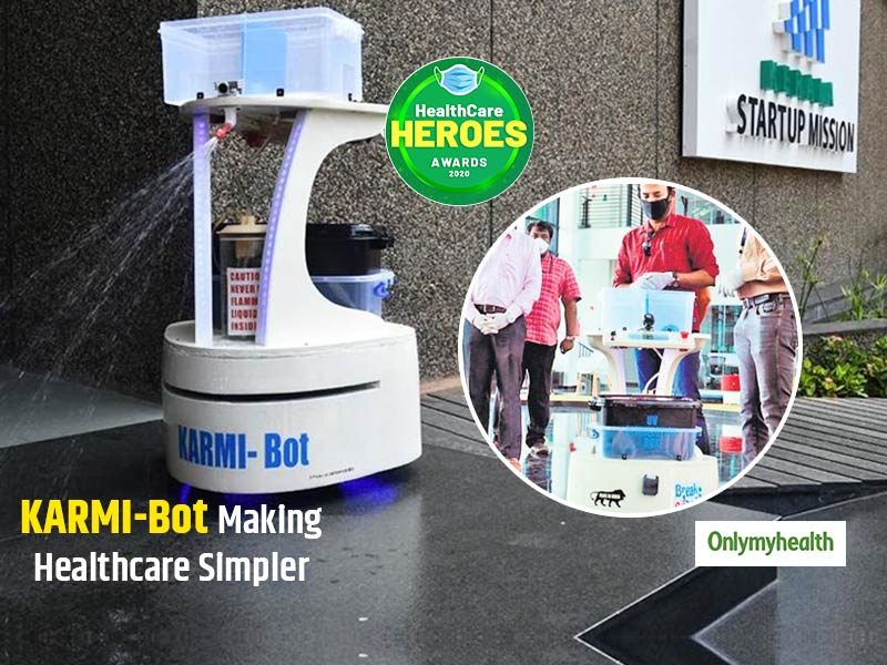 Healthcare Heroes Awards 2020: KARMI-Bot Robot Is Reducing Human Load During COVID-19