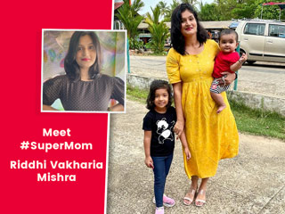#SuperMom: Meet Riddhi Vakharia Mishra Giving Motherhood Mantras
