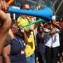 Noisy vuvuzelas can damage hearing
