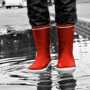 Be fashionable with gumboots this <strong>monsoon</strong>